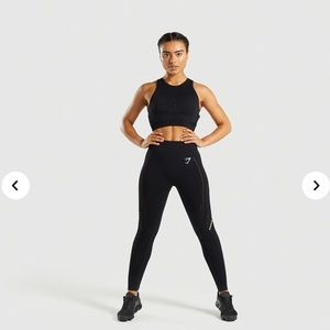 Gymshark Flawless Knit Crop & Legging Set